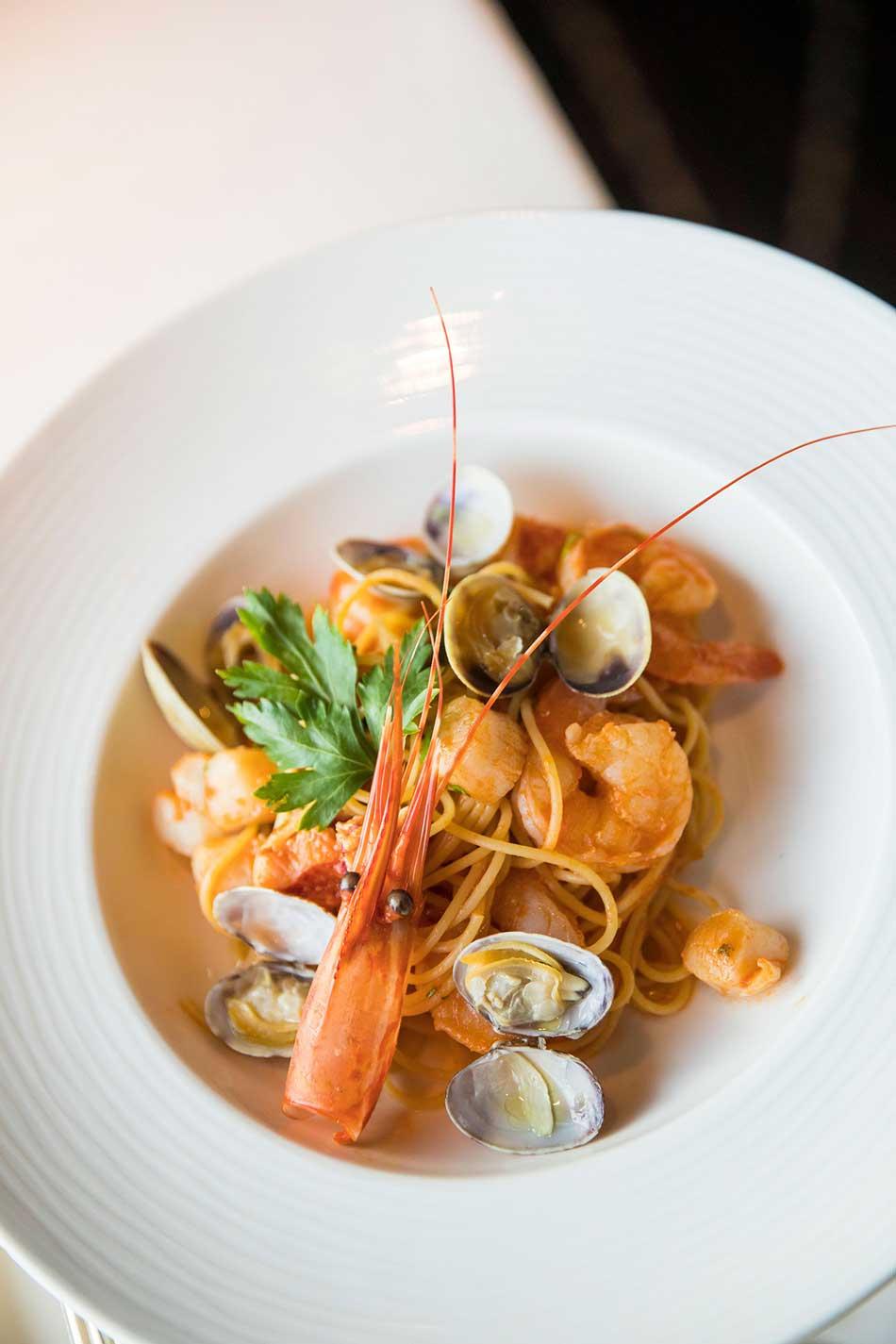 Crystal Cruises 5 star cuisine