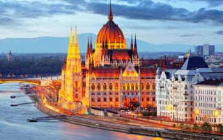 Budapest, Hungry on the Danube River