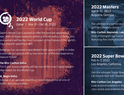 Sports vacation packages for 2022/23