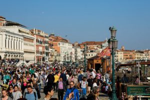 Venice in October is still crowded
