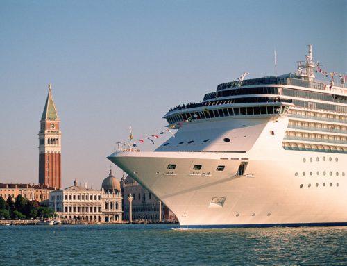 Venice bans large cruise ships sailing through the city