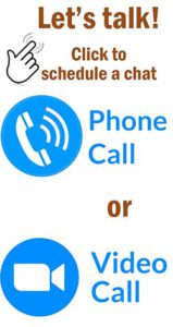 Schedule video or phone chat