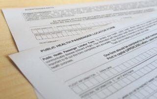 Germany's Passenger Locator Form